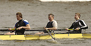Chiswick, LONDON, ENGLAND, 25.03.2006,  Molesey BC, middle,  Martin Cross start the 2006 Head of the River Race. Mortlake to Putney. © Peter Spurrier/Intersport-images.com. 2006 Men's Head of the River Race, Rowing Course: River Thames, Championship course, Putney to Mortlake 4.25 Miles 2006 Men's Head of the River Race, Rowing Course: River Thames, Championship course, Putney to Mortlake 4.25 Miles