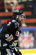 17.9.2014, Ritari Areena, Hämeenlinna.<br /> Jääkiekon SM-liiga 2014-15. Hämeenlinnan Pallokerho - Oulun Kärpät.<br /> Dan Spang - Kärpät