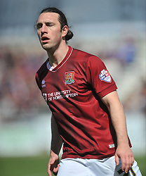 JOHN JOE O'TOOLE  NORTHAMPTON  TOWN  Northampton Town v Luton Town, Sky Bet League 2,  Six Fields Stadium Northampton Crowned Division Two Champions Saturday 30th April 2016. (Score 2-1)Photo: Mike Capps