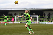 Forest Green Rovers Joseph Mills(23) during the EFL Sky Bet League 2 match between Forest Green Rovers and Yeovil Town at the New Lawn, Forest Green, United Kingdom on 16 February 2019.