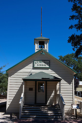 Geneso School, Pioneer Museum, Paso Robles, California, United States of America
