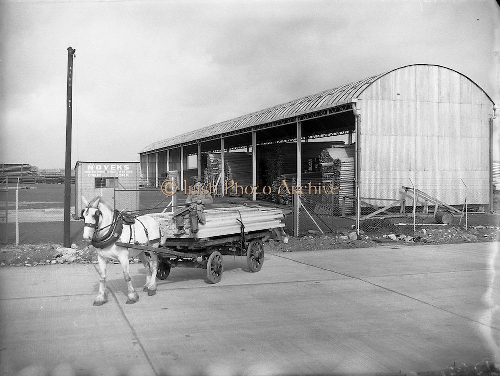 15/09/1954<br /> 09/15/1954<br /> 15 September 1954<br /> <br /> McFerran &amp; Guilford Ltd Builders Supplies, Tara St., Dublin - Timber