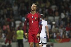 August 31, 2017 - Porto, Porto, Portugal - Portugal's forward Cristiano Ronaldo during the FIFA World Cup Russia 2018 qualifier match between Portugal and Faroe Islands at Bessa Sec XXI Stadium on August 31, 2017 in Porto, Portugal. (Credit Image: © Dpi/NurPhoto via ZUMA Press)