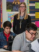 Jennifer Donaldson teaches French at Waltrip High School, April 27, 2015.