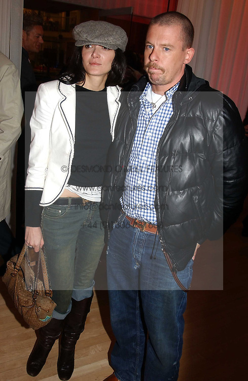 ALEXANDER MCQUEEN and ANNABEL NEILSON at the annual Laurent Perrier Pink Party held at The Sanderson Hotel, Berners Street, London on 27th April 2005.<br /><br />NON EXCLUSIVE - WORLD RIGHTS