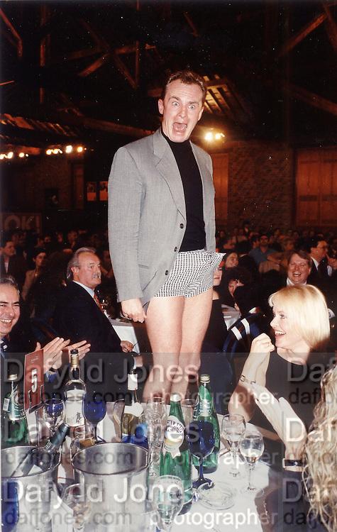 Bobby Davro. London 1997. © Copyright Photograph by Dafydd Jones 66 Stockwell Park Rd. London SW9 0DA Tel 020 7733 0108 www.dafjones.com