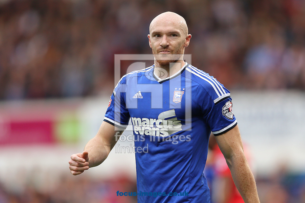 Conor Sammon of Ipswich Town during the Sky Bet Championship match at Portman Road, Ipswich<br /> Picture by Richard Calver/Focus Images Ltd +447792 981244<br /> 18/10/2014