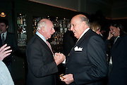 PRINCE RUPERT LOEWENSTEIN;CLAUS VON BULOW. Graydon and Anna Carter host a lunch for Carolina Herrera to celebrate the ipening of her new shop on Mount St. .The Connaught. London. 20 January 2010