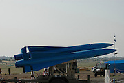 Israel, Tel Nof IAF Base, An Israeli Air force (IAF) exhibition. Ground to Air Hawk Missiles