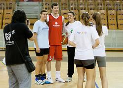 Goran Dragic during practice session of team Slovenia before Round 2 at Day 8 of Eurobasket 2013 on September 11, 2013 in Jezica Hall, Ljubljana, Slovenia. (Photo By Urban Urbanc / Sportida.com)