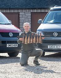 Iain Spink - personalised reg plate feature SM03 KER & SM04 KEY. He runs Original Smokies from Arbroath.