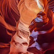 We are truly the benefactors of the work time and erosion have upon the caverns in Antelope Canyon.