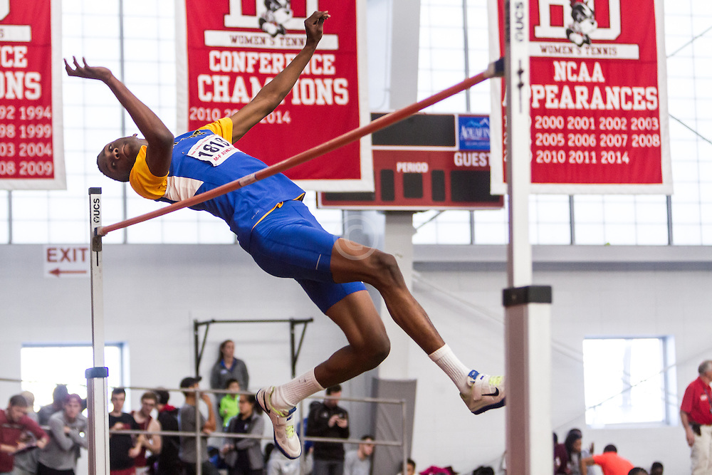 Boston University John Terrier Classic Indoor Track & Field: mens high jump,