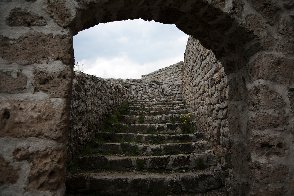 The old fortress in Travnik.