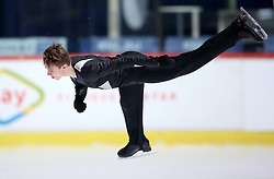 04.12.2015, Dom Sportova, Zagreb, CRO, ISU, Golden Spin of Zagreb, freies Programm, Herren, im Bild Marco Klepoch, Slovakia. // during the 48th Golden Spin of Zagreb 2015 men Free Program of ISU at the Dom Sportova in Zagreb, Croatia on 2015/12/04. EXPA Pictures © 2015, PhotoCredit: EXPA/ Pixsell/ Igor Kralj<br /> <br /> *****ATTENTION - for AUT, SLO, SUI, SWE, ITA, FRA only*****