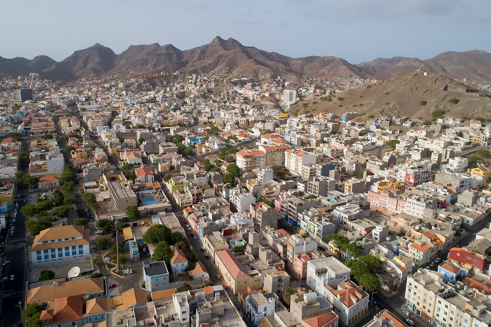 São Vicente, Cabo Verde. Drone Photography