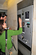 Israel, Jerusalem Automatic parking payment
