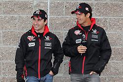 Motorsports / Formula 1: World Championship 2010, GP of Korea, 24 Timo Glock (GER, Virgin Racing),   25 Lucas di Grassi (BRA, Virgin Racing),