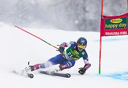 Tommy Ford of USA during 1st run of Men's Giant Slalom race of FIS Alpine Ski World Cup 57th Vitranc Cup 2018, on 3.3.2018 in Podkoren, Kranjska gora, Slovenia. Photo by Urban Meglič / Sportida