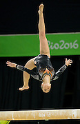 August 15, 2016 - Rio de Janeiro, RJ, Brazil - OLYMPICS GYMNASTICS : Gold Medal winner SANNE WEVERS of the Netherlands performance in the Women's Balance Beam finals at Rio Olympics Arena during the 2016 Rio Summer Olympics games.<br /> ©Exclusivepix Media
