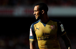 Theo Walcott of Arsenal  - Mandatory by-line: Joe Meredith/JMP - 25/07/2015 - SPORT - FOOTBALL - London,England - Emirates Stadium - Arsenal v Lyon - Emirates Cup