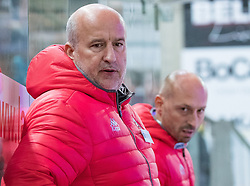 08.07.2016, Tiroler Wasserkraft Arena, Innsbruck, AUT, EBEL, HC TWK Innsbruck Die Haie vs HC Orli Znojmo, 8. Runde, im Bild Trainer Jiri Reznar (Znojmo) // during the Erste Bank Icehockey League 8th Round match between HC TWK Innsbruck Die Haie and HC Orli Znojmo at the Tiroler Wasserkraft Arena in Innsbruck, Austria on 2016/10/08. EXPA Pictures © 2016, PhotoCredit: EXPA/ Johann Groder