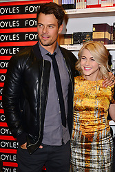 Josh Duhamel & Julianne Hough during book signing for An Evening with Nicholas Sparks, Foyles, Westfield, White City, London, UK, February 21, 2013.  Photo by Nils Jorgensen / i-Images.