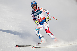 11.02.2019, Aare, SWE, FIS Weltmeisterschaften Ski Alpin, alpine Kombination, Herren, Abfahrt, im Bild Maxence Muzaton (FRA) // Maxence Muzaton of France reacts after the Downhill competition of the men's alpine combination for the FIS Ski World Championships 2019. Aare, Sweden on 2019/02/11. EXPA Pictures © 2019, PhotoCredit: EXPA/ Dominik Angerer