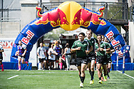 Lindenwood University takes on Utah Valley University at Red Bull Uni 7s Rugby Qualifiers at Infinity Park in Glendale, CO, USA, on 25 August, 2016.