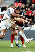 Luke McAlister attacks for Toulouse. Stade Toulousain v Brive, 24eme Journee, Top 14. Stade Ernest Wallon, Toulouse, France, 21 Avril 2012.