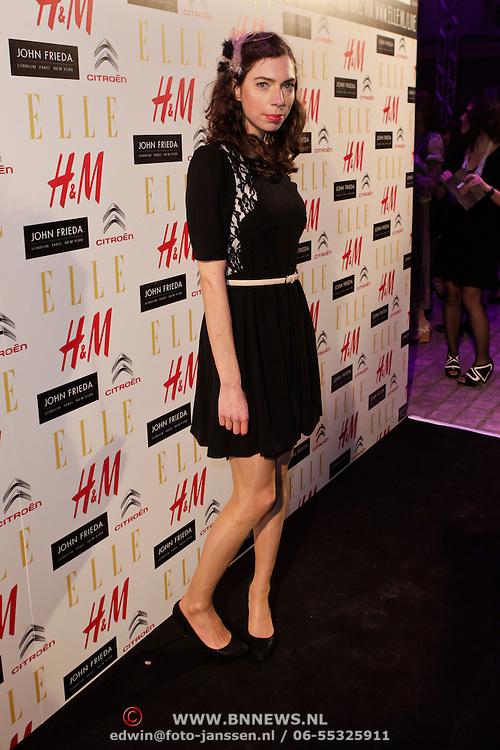 NLD/Amsterdam/20120112 - Elle Style Awards 2012, Hanne Bervoets