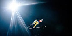 05.01.2016, Paul Ausserleitner Schanze, Bischofshofen, AUT, FIS Weltcup Ski Sprung, Vierschanzentournee, Qualifikation, im Bild Gregor Deschwanden (SUI) // Gregor Deschwanden of Switzerland during his Qualification Jump for the Four Hills Tournament of FIS Ski Jumping World Cup at the Paul Ausserleitner Schanze, Bischofshofen, Austria on 2016/01/05. EXPA Pictures © 2016, PhotoCredit: EXPA/ JFK