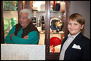 ANTONIO CARLUCCIO; JAMES OLSEN, Dinosaur Designs launch of their first European store in London. 35 Gt. Windmill St. 18 September 2014