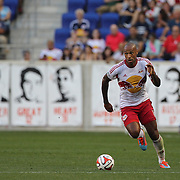 Thierry Henry, New York Red Bulls, in action during the New York Red Bulls Vs Columbus Crew, Major League Soccer regular season match at Red Bull Arena, Harrison, New Jersey. USA. 12th July 2014. Photo Tim Clayton