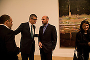 VICTOR PINCHUK, JAY JOPLING AND PETER DOIG, Private view and dinner for the opening of the Peter Doig exhibition. Tate Britain. Millbank. London. 4 February 2008.  *** Local Caption *** -DO NOT ARCHIVE-© Copyright Photograph by Dafydd Jones. 248 Clapham Rd. London SW9 0PZ. Tel 0207 820 0771. www.dafjones.com.