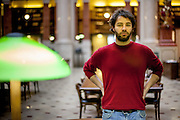 Schriftsteller Andreas Stichmann in Prag. Nutzung NUR fuer das Literaturhaus Prag und auf Anfrage !!!