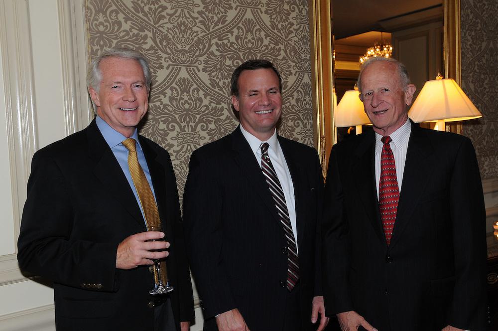 Senator Chris Dodd senior a Democratic leader in the United States Senator spoke to the members of the Economic Club of Washington at the Ritz Carlton Washington DC