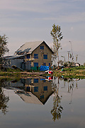Kashmir Srinagar - Houseboats on Lake Dal