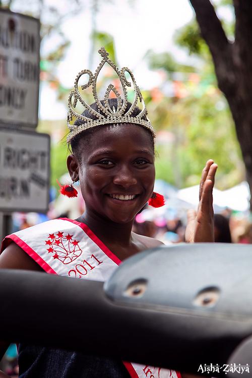 Miss BVI Princess 2011 Rhekaaya Merry.  St. John Carnival 2012 © Aisha-Zakiya Boyd