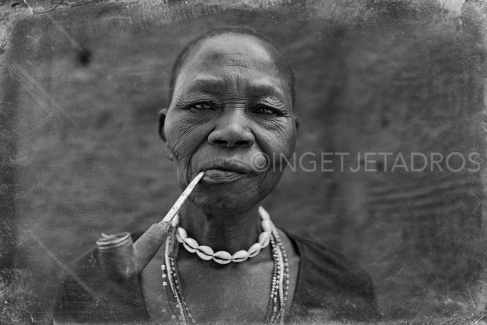 Woman from the Somba Tribe, North-East Benin 2014