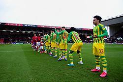 Match mascots prior to kick off - Mandatory by-line: Ryan Hiscott/JMP - 22/02/2020 - FOOTBALL - Ashton Gate - Bristol, England - Bristol City v West Bromwich Albion - Sky Bet Championship