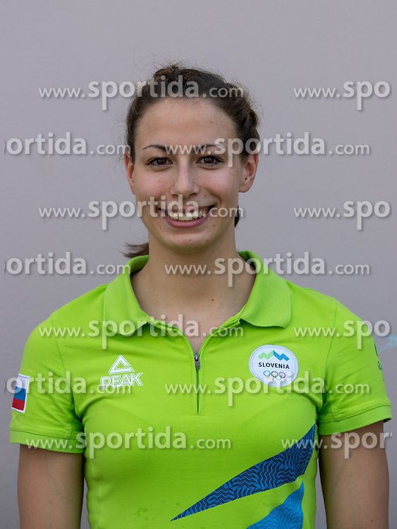 Tjasa Pintar at presentation of Slovenian Olympic Team for Rio 2016, on July 22, 2016 in Koper, Slovenia. Photo by Matic Klansek Velej / Sportida