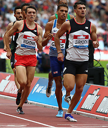July 22, 2018 - London, United Kingdom - L-R Jake Wightman and Guy Learmonth of Great Britain Compete in the 800m Men during the Muller Anniversary Games IAAF Diamond League Day Two at The London Stadium on July 22, 2018 in London, England. (Credit Image: © Action Foto Sport/NurPhoto via ZUMA Press)