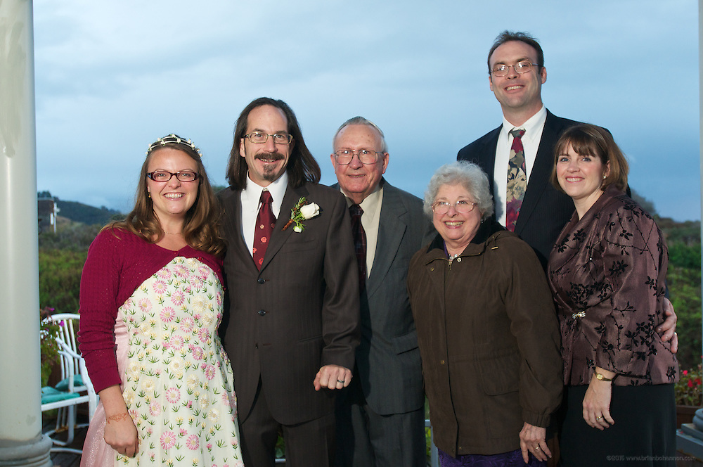 The wedding of Sarah and Joseph Saturday Nov. 27, 2010 in Elk, California at the Greenwood Pier Inn Bed and Breakfast. (Photo by Brian Bohannon)