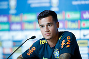Philippe coutinho during the Brazil press conference on June 19, 2018 at Yug-Sport Stadium in Sochi, Russia - Photo Tarso Sarraf / FramePhoto / ProSportsImages / DPPI