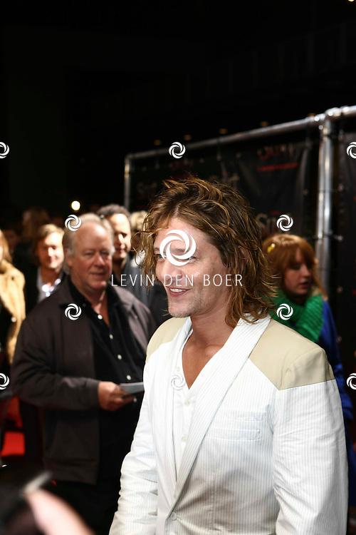 AMSTERDAM - De film Sint van regisseur Dick Maas gaat woensdag in het Muziektheater in Amsterdam in premiere. Met op de foto Tygo Gernandt. FOTO LEVIN DEN BOER - PERSFOTO.NU