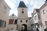 Kremser Tor entrance gate to ancient city of Krems, Wachau Valley, Austria