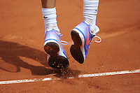 illustration chaussures / Nike  - 26.05.2015 - Jour 3 - Roland Garros 2015<br />