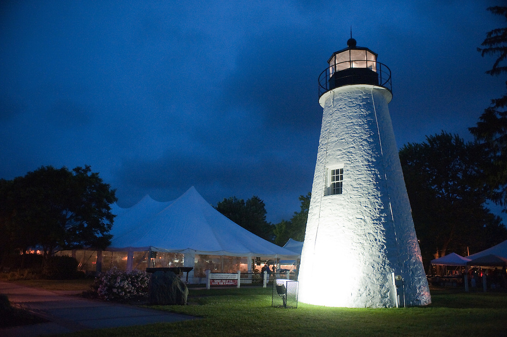 Tents by Lighthouse in Havre de Grace, MD
