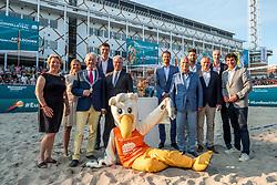 15-07-2018 NED: CEV DELA Beach Volleyball European Championship day 1<br /> Opening van het DELA EK Beach Volleybal 2018